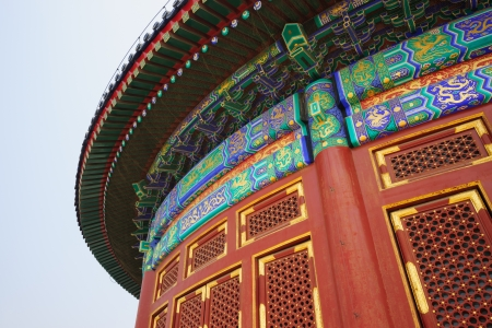 harvests: the Hall of Prayer for Good Harvests in the Temple of Heaven.the Temple of Heaven was built in 1420,it remain intact through the Ming and Qing dynasty,and It is included in the UNESCO world heritage list in 1998.In the past,the emperors worshiped their an Editorial
