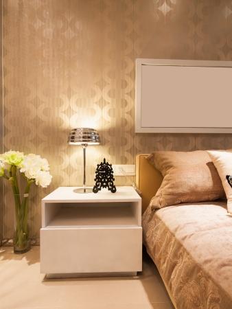 Modernes Schlafzimmer Standard-Bild - 20054675