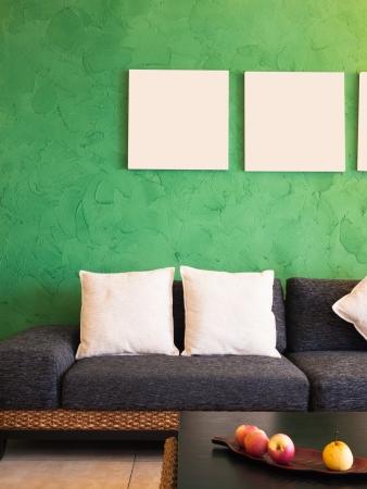 living room interior: modern living room