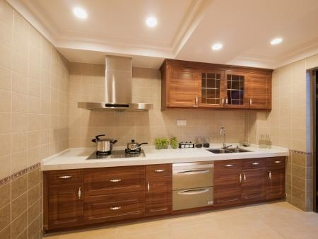 cuisine: la cuisine avec armoire classique