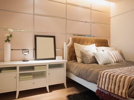Modernes Schlafzimmer Standard-Bild - 20127082