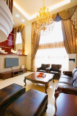 the luxury living room photo