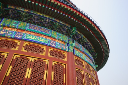 intact: the Hall of Prayer for Good Harvests in the Temple of Heaven.the Temple of Heaven was built in 1420,it remain intact through the Ming and Qing dynasty,and It is included in the UNESCO world heritage list in 1998.In the past,the emperors worshiped their an Editorial