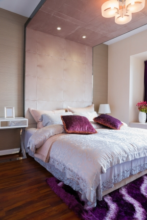 the bedroom with nice decoration Stock Photo - 21845825