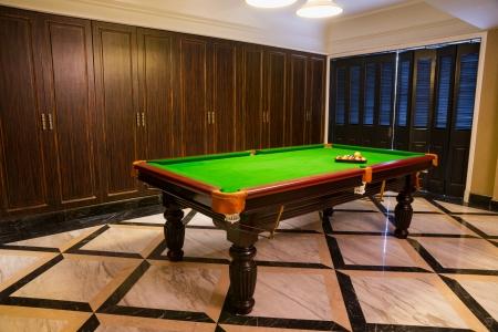 pool room in a club photo