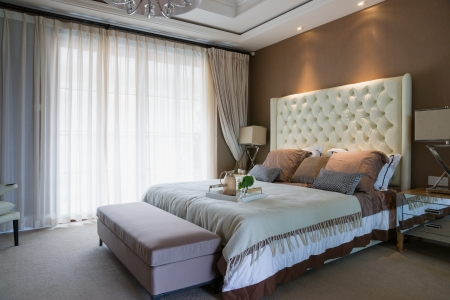 Moderne slaapkamer royalty vrije foto s plaatjes beelden en