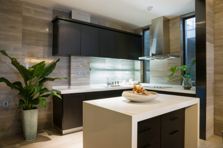 nice kitchen with modern style photo