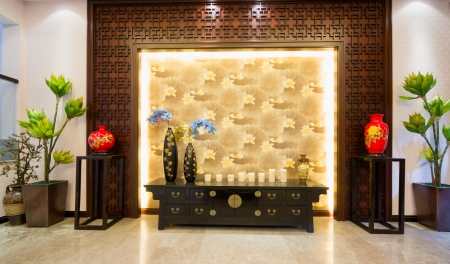 the house interior decoration of Chinese style Stock Photo - 24282926