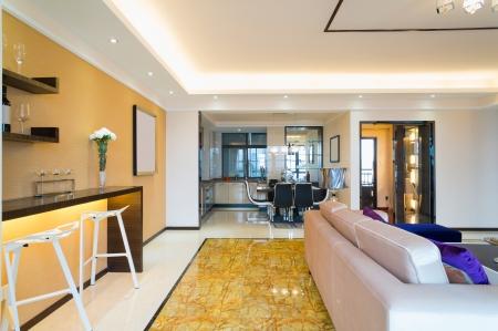 the modern house interior decoration photo