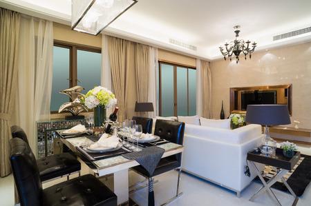 interni moderni a casa con un bel design