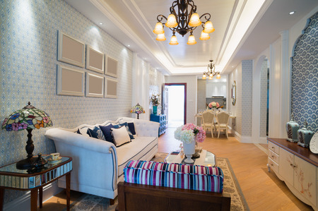 classic living room: classic living room with nice design and decoration