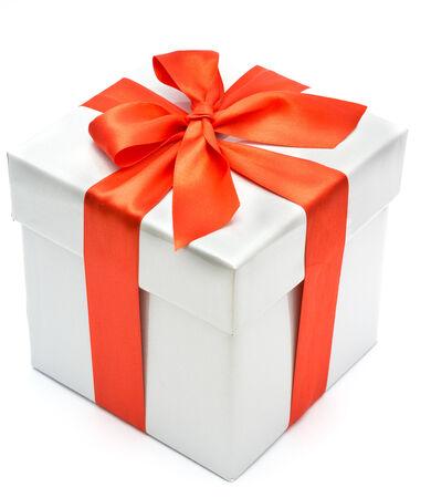 gift box: nice gift box isolated on white background