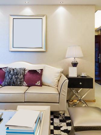 nice living: modern living room with nice decoration