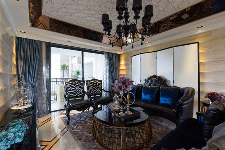 luxury living room: luxury living room with nice furniture