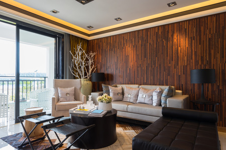 modern house interior with very nice decoration