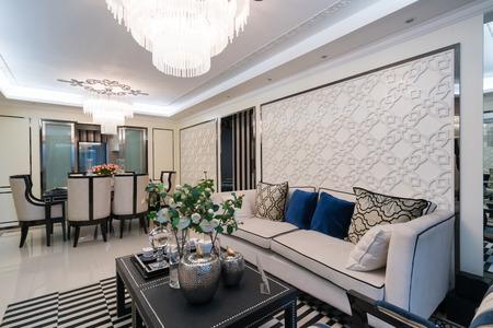 luxury living room: luxury living room with nice decoration