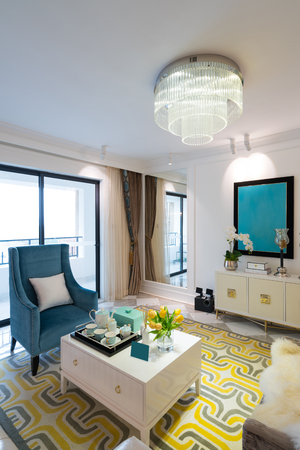 nice living: living room with nice decoration