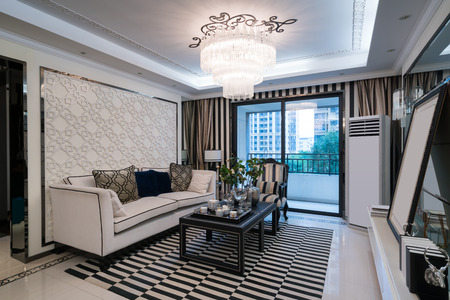 room decoration: luxury living room with nice decoration