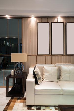 nice living: nice living room with sofa