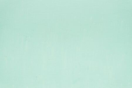 Beautiful bright mint green color for the background. Copy space