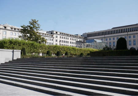 Brussels, european commission, one of the first cities to stop the installation of 5G Stock fotó - 152417635