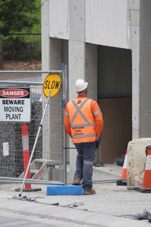 Opal Tower construction site. NSW Government launches investigation into the completed high rise after structural concerns evacuated residents of the tower. Sydney, NSW / Australia - January 16, 2018.