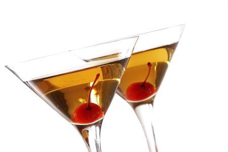 Manhattan cocktails                   photo