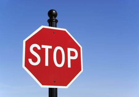 sign: Stop traffic sign