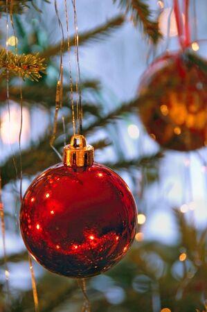 Christmas tree ornaments Stock Photo - 7810519