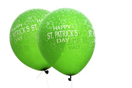 St. Patricks balloons           Stock Photo - 7810516
