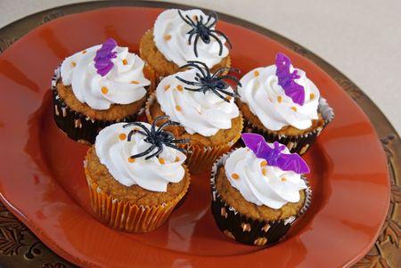 Halloween cupcakes                   Imagens