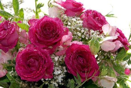 Wedding bouquet, closeup
