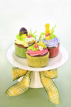 Easter cupcakes Imagens - 12359607