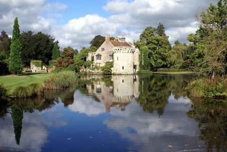 kent: Scotney Castle, Lamberhurst, Kent, England