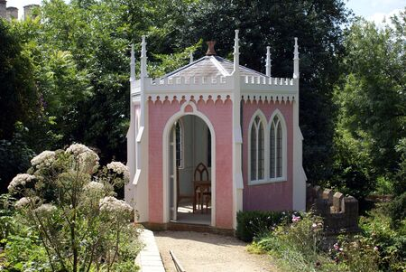 summerhouse: old summerhouse