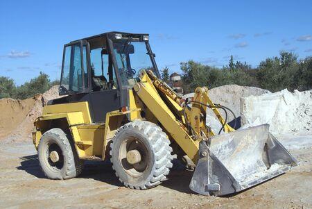 construction vehicle: Bulldozer Construction Vehicle Stock Photo