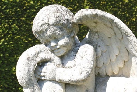 angel statue: cherub statue. angel statue