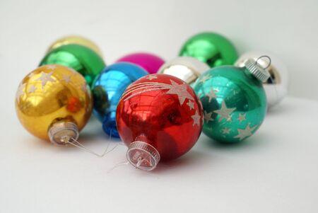 Christmas balls. Christmas baubles