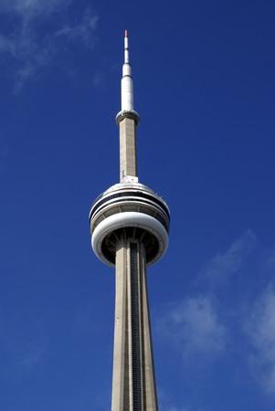 CN Tower in Toronto Ontario Canada Editöryel