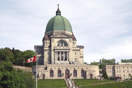 oratoria: Oratorio de San Jos� del Monte Real en Montreal Quebec Canad� Foto de archivo