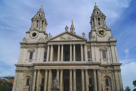 Saint Paul Cathedral in London England Europe photo