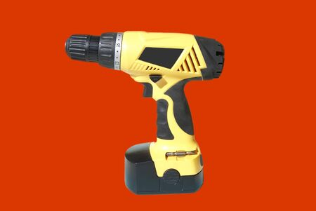 electrical materials: Electric drill. electric screwdriver