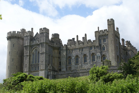 west sussex: Arundel Castle in West Sussex England Editorial