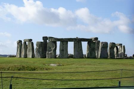 wiltshire: Stonehenge in Wiltshire England Stock Photo