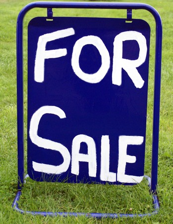 for sale sign: For Sale sign Stock Photo