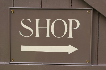 shop sign: Shop Sign