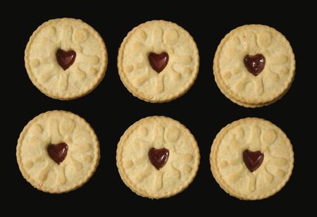 jam biscuits: Biscotti di marmellata. cookie di marmellata Archivio Fotografico