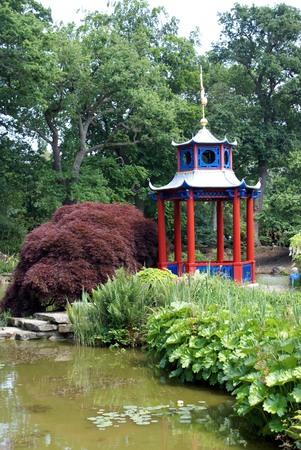 lakeside: Pagoda at a lakeside