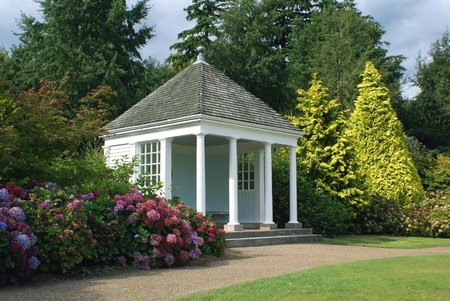 summerhouse: Old summerhouse. Garden architecture