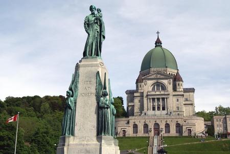 oratoria: Oratorio de Mount Royal, Montreal, Quebec, Canadá de San José